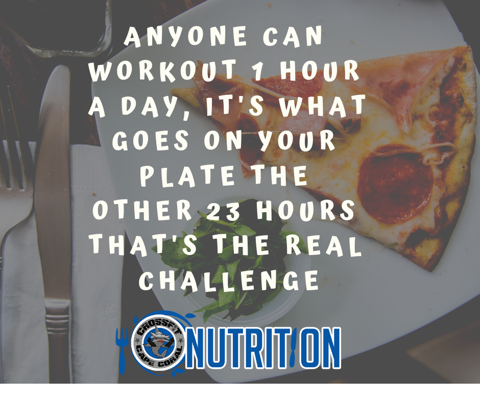 Anyone can workout 1 hour a day it's what goes on your plate the other 23 hours that's the real challenge.png
