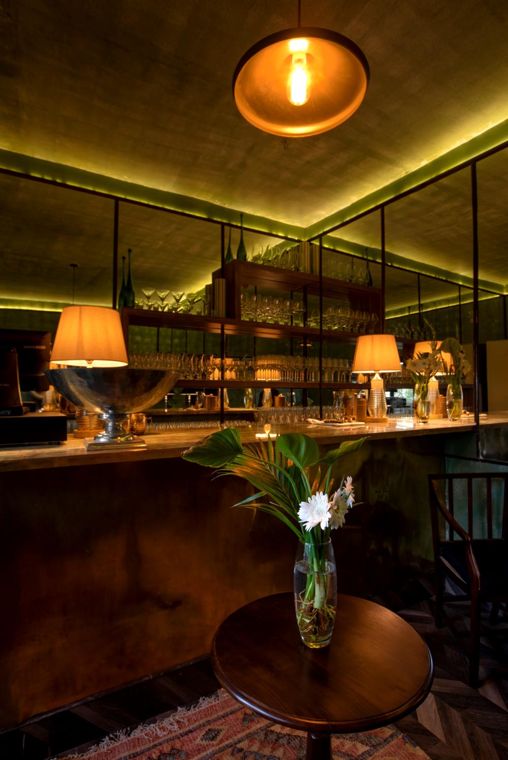 the bar at Asvah