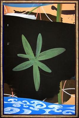 10. Starfish, Nile River 78 54 inches Acrylic on Board