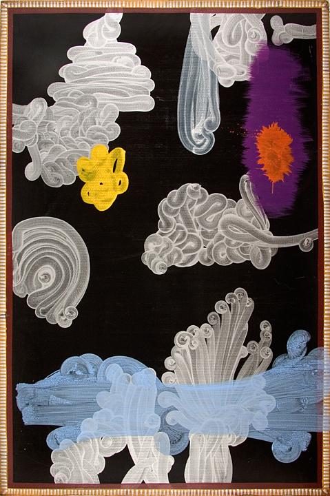 44. Gargoyle 78 x 54 inches Acrylic on Board
