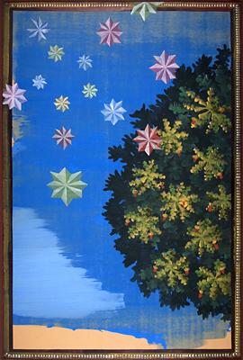 11. Oak Trees 78 x 54 Acrylic o Board