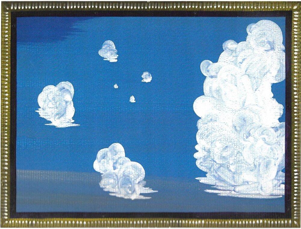 Cloud Harmony 21 x 41 inches Acrylic on Board