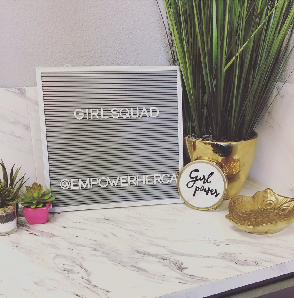 Girl Squad Link Up - Empower Her began with the simple idea of grouping women together to create an experience that allows women in business to connect with each other and the community. We create an opportunity to support local women in business and for friends and family to connect with each other. It is a day to celebrate the social, economic, and political achievements of women, cultivate sisterhood and network with other women in business.