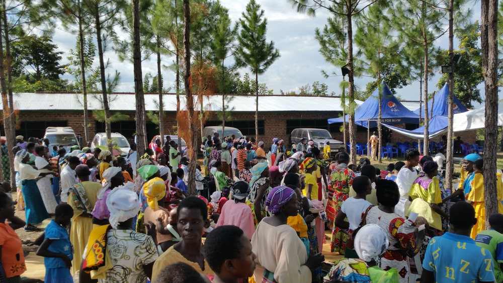 So many people who will be blessed by the resources provided by the piggery and farm