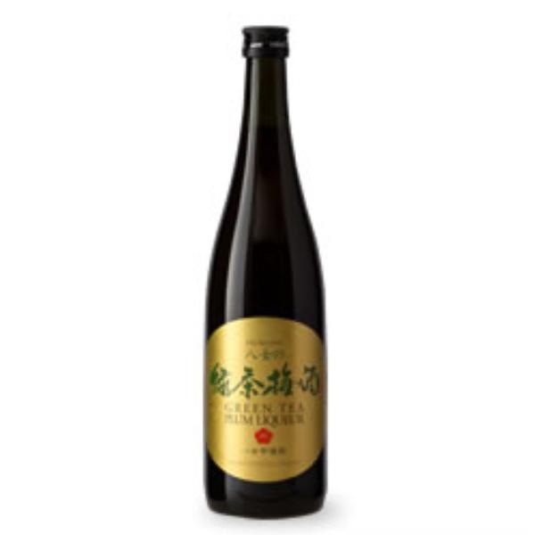 "NISHIYOSHIDA ""RYOKUCHA UMESHU"" Green Tea Plum Wine 12% 500ml"