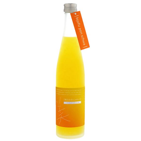 "HAMAKAWA ""BIJOFU PON SCHWA!!"" Ponkan (Citrus) Sparkling Liqueur 7% 1800ml"