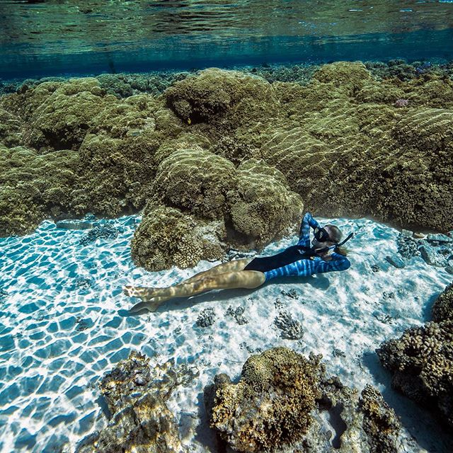 @oceanramsey finding a nice place  to get some sun.  #underwaterbeach #beautifuldestinations @xcelwetsuits #tigerwetsuit #wetsuitforacause