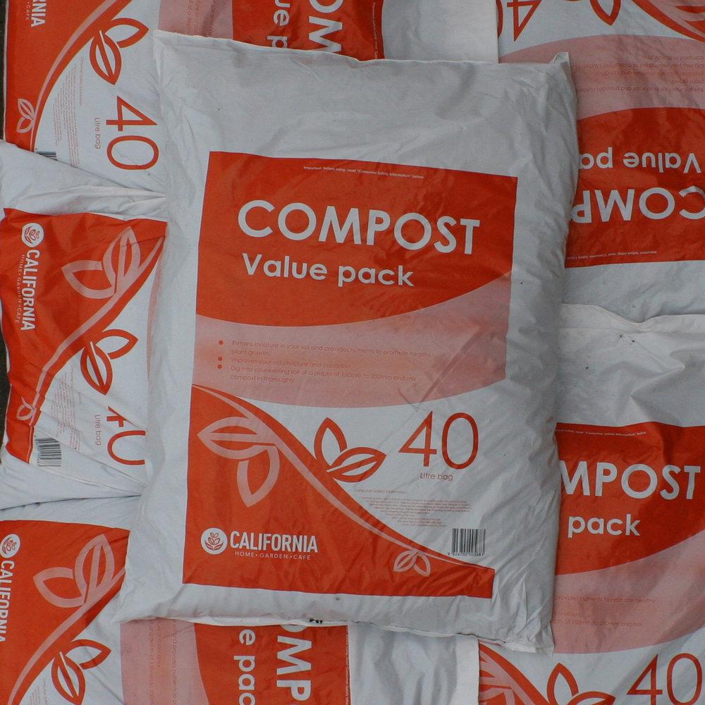 California Value Compost 40L3 for $18.50 -