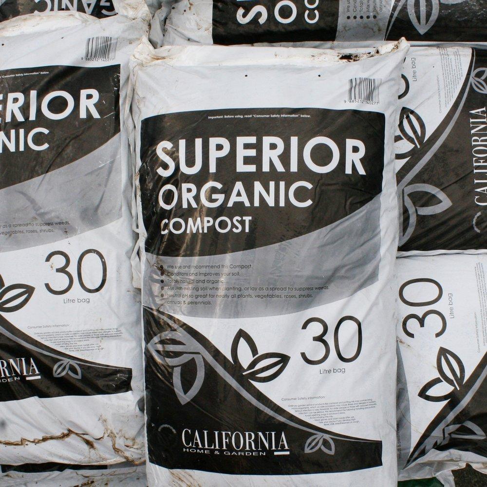 California Organic Compost 40L3 for $22 -