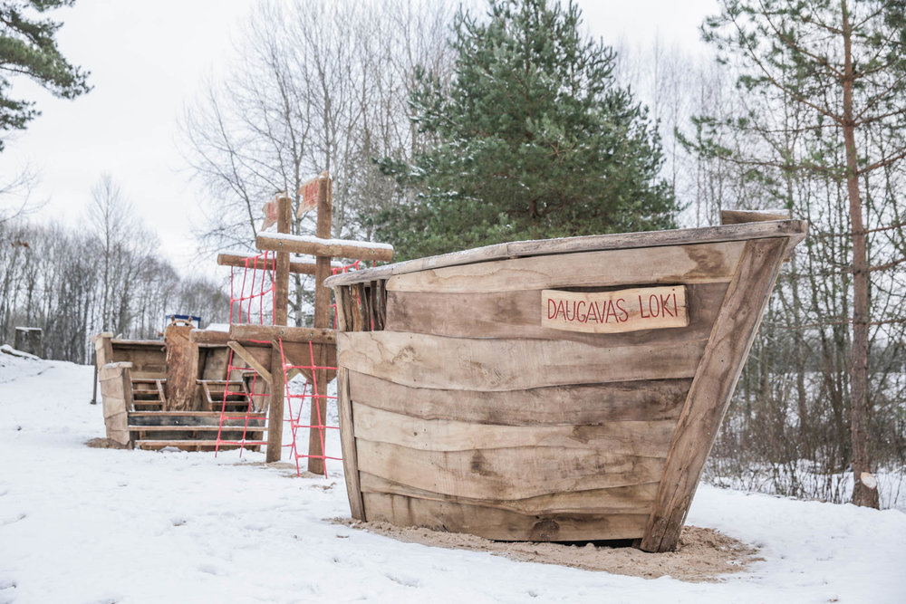 PLAYGROUND SHIP -