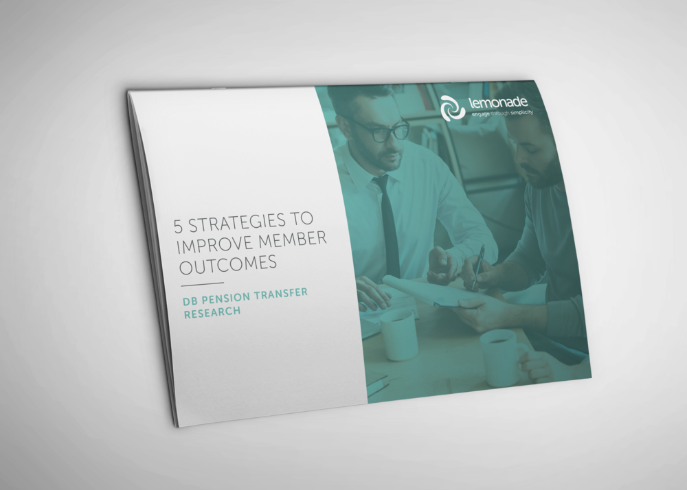 5 strategies to consider - We have taken a deep dive into the results and produced the top 5 strategies to help improve member outcomes to promote best practice in the world of DB transfers.