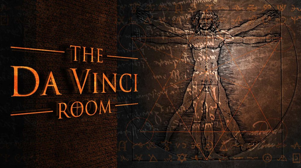 the da vinci room - Dr John Albright has studied the workings of Da Vinci in great detail. He has amassed a considerable collection over the years, including what many believe to be the Holy Grail.Having gained his trust by helping him