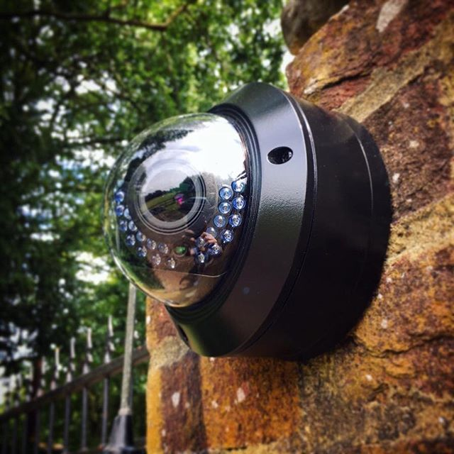 Commercial Security Cameras Installation