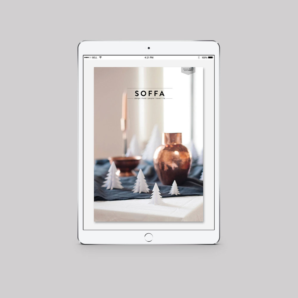 SOFFA 01 / VÁNOCE  e-magazín, zdarma ke čtení