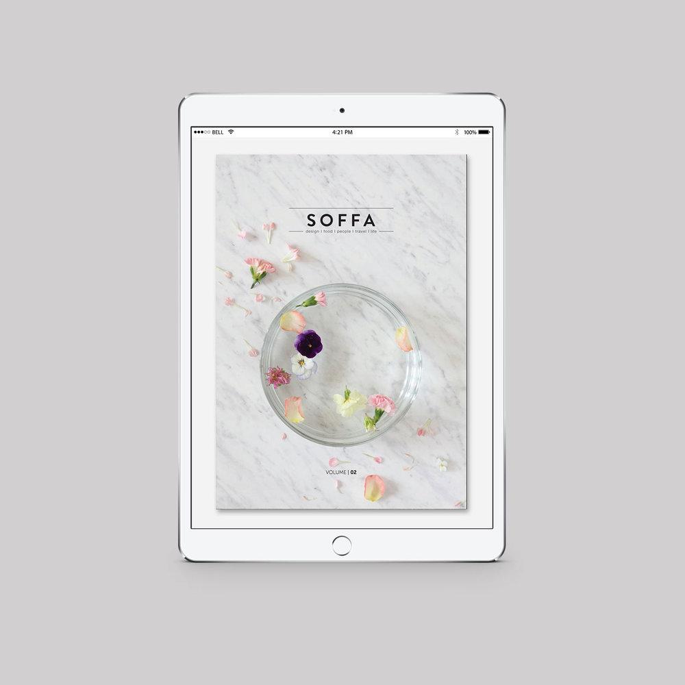 SOFFA 02 / KVĚTINY  e-magazín, zdarma ke čtení