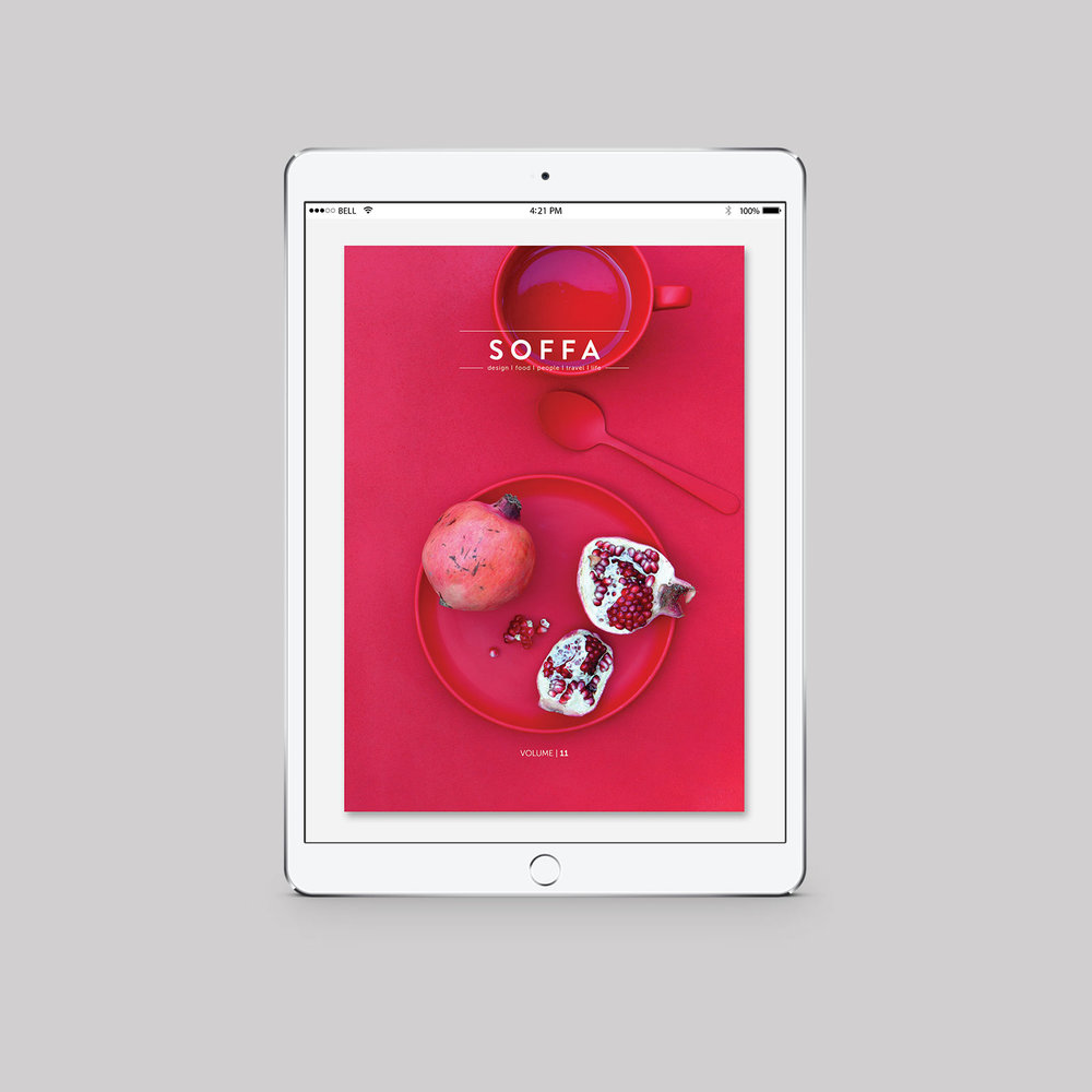 SOFFA 11 / BARVY  tištěné vydání, zdarma ke čtení