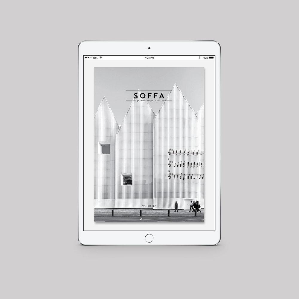 SOFFA 22 / HUDBA  tištěné vydání, 2.49 €