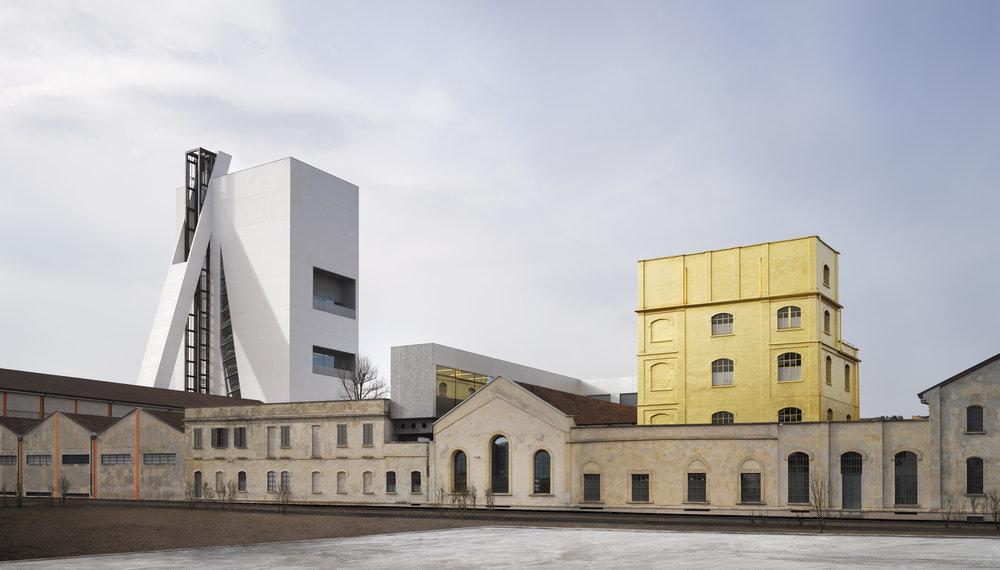 Fondazione Prada, Milán. Foto: Bas Princen. Courtesy Fondazione Prada