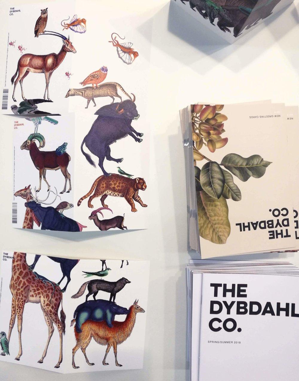 Papírenské zboží od The Dybdahl, Dánsko