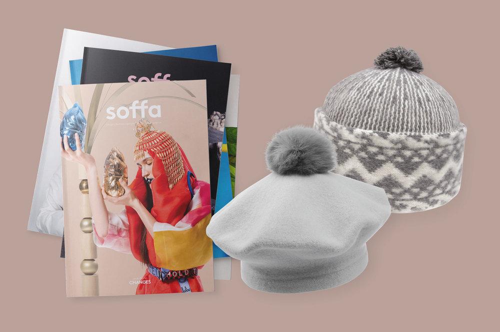 Roční předplatné + dárek - 6 čísel za cenu 5 + baret nebo zmijovka od Tonaku jako dárek