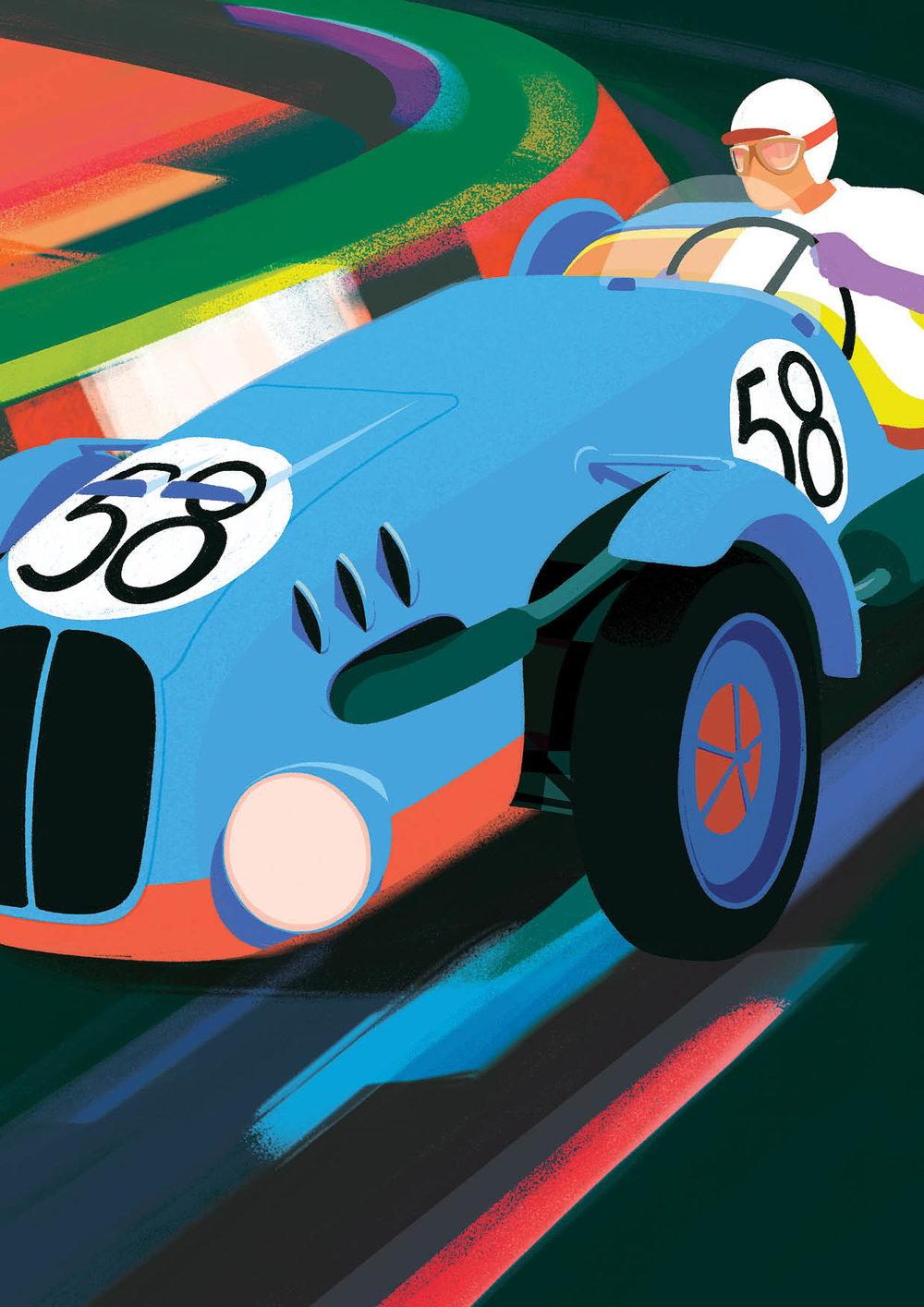 V červnu 1949 se zúčastnily prvního poválečného ročníku čtyřiadvacetihodinového závodu v Le Mans dva minory. Formule vítězné posádky Krattner–Sutnar dostala číslo 58 a byl jí domalován příčný modrý pruh, aby reprezentovala národní barvy.