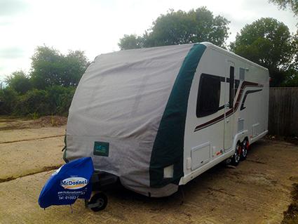 On Site Caravan storage