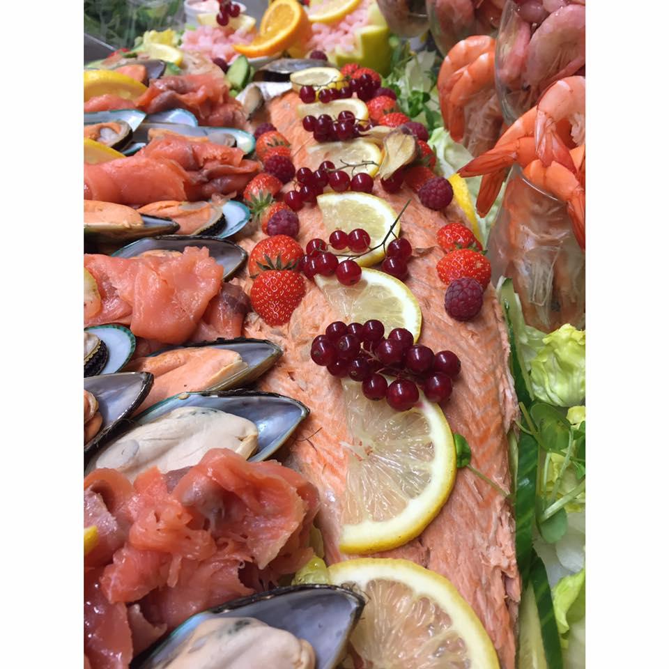 Salmon Buffet Option