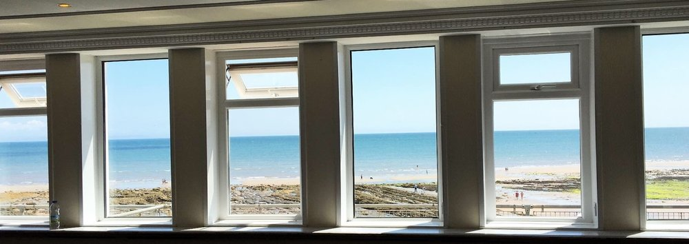 Enjoy Your Breakfast With Sea Views Across The Bay