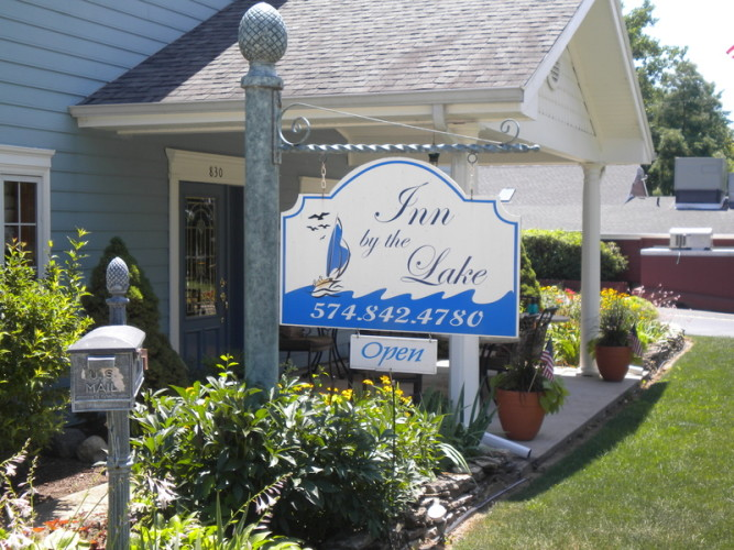 Inn by the Lake - Inn by the Lake is the perfect B & B for a romantic getaway. They offer luxurious accommodations and hotel amenities such as maid service & breakfast. A short walk out the front door will land you near restaurants, lake and the beach so you can enjoy your boating and swimming.830 Lakeshore Dr., Culver, IN 465111-866-417-5088inn-bythelake.com