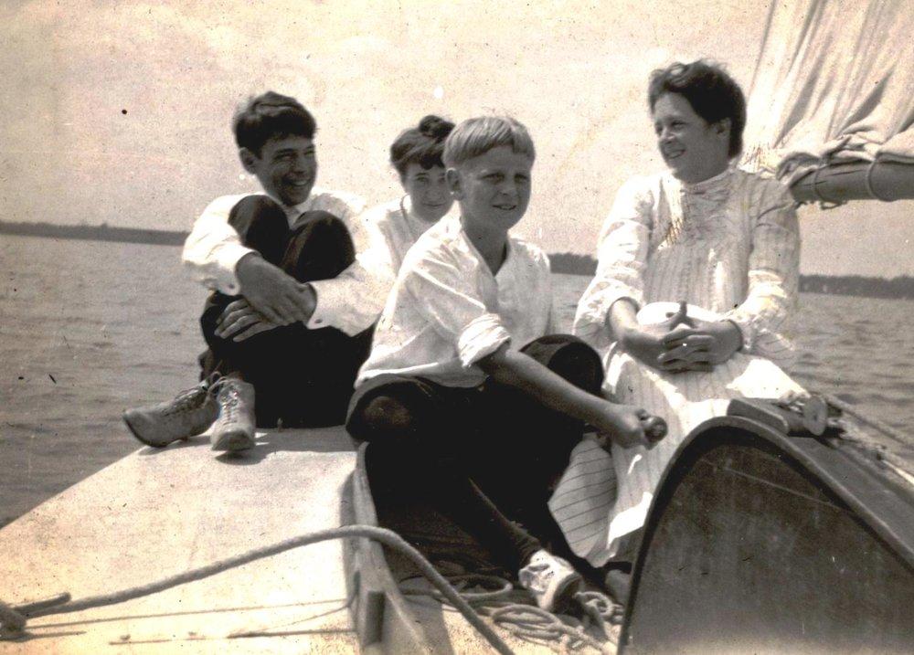 cole porter sailing Lake Maxinkuckee