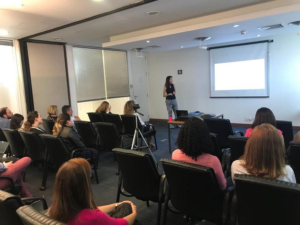 Palestra para líderes da Dell - Evento Women in Action