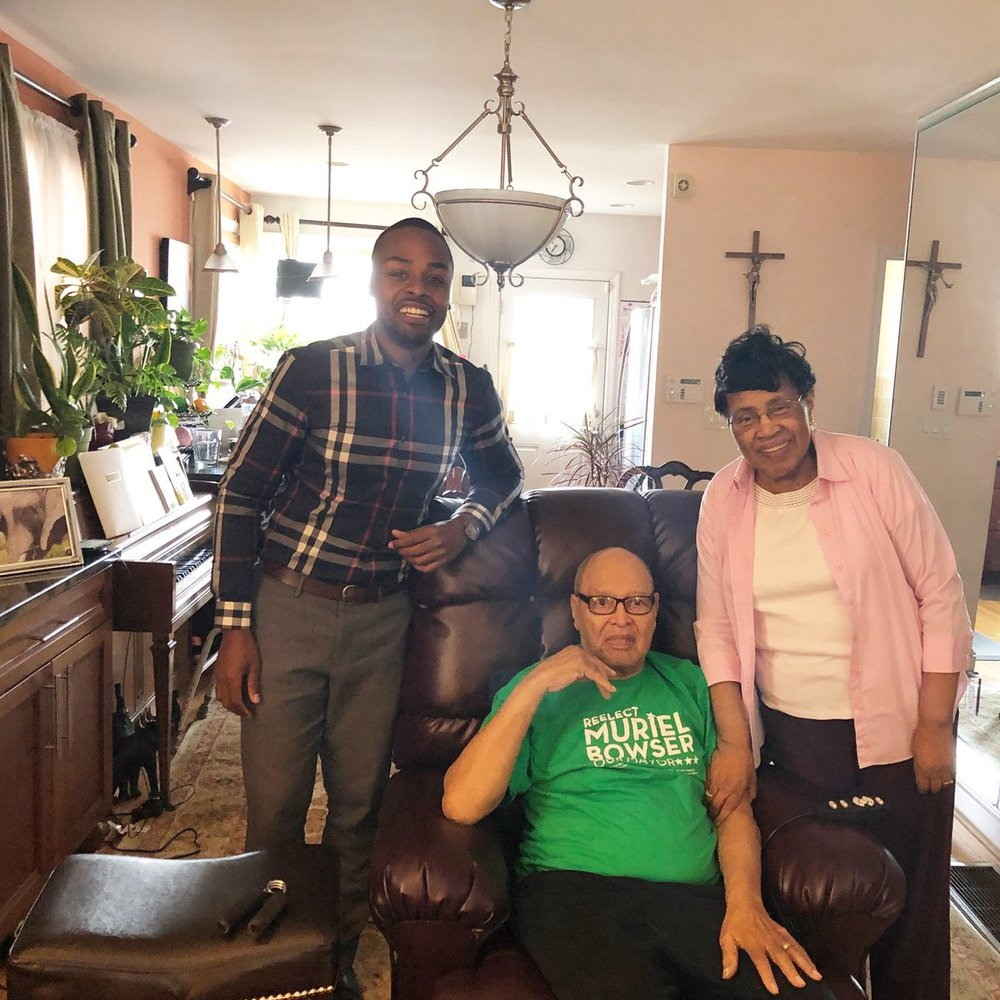 Joan and Joe Bowser, Longtime Ward 5 residents and the City's parents