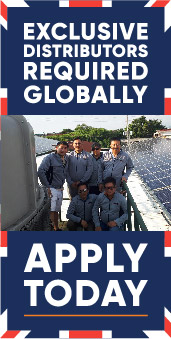 Exclusive solar panel distributors required globally - aPPLY TODAY