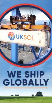UKSOL British solar panels ship globally