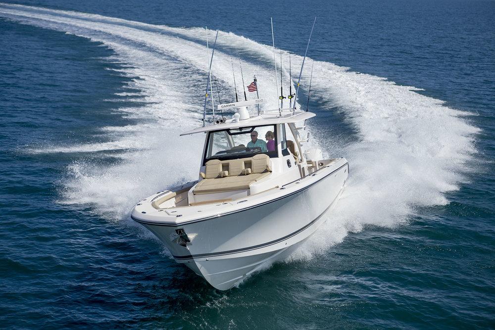 Pursuit 408 - Seakeeper 5