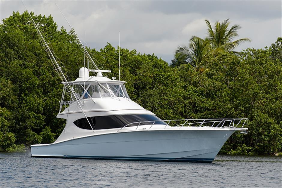 hatteras 54 gt - 2 x Seakeeper 5