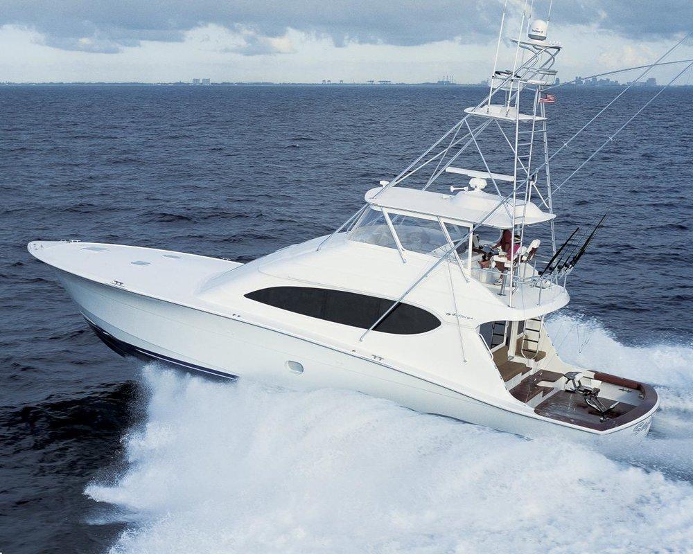 Hatteras 68 - 2 x seakeeper 9