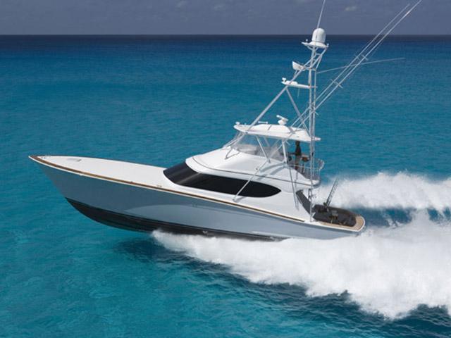 Hatteras 60 Sportfish - Seakeeper 5 and seakeeper 9