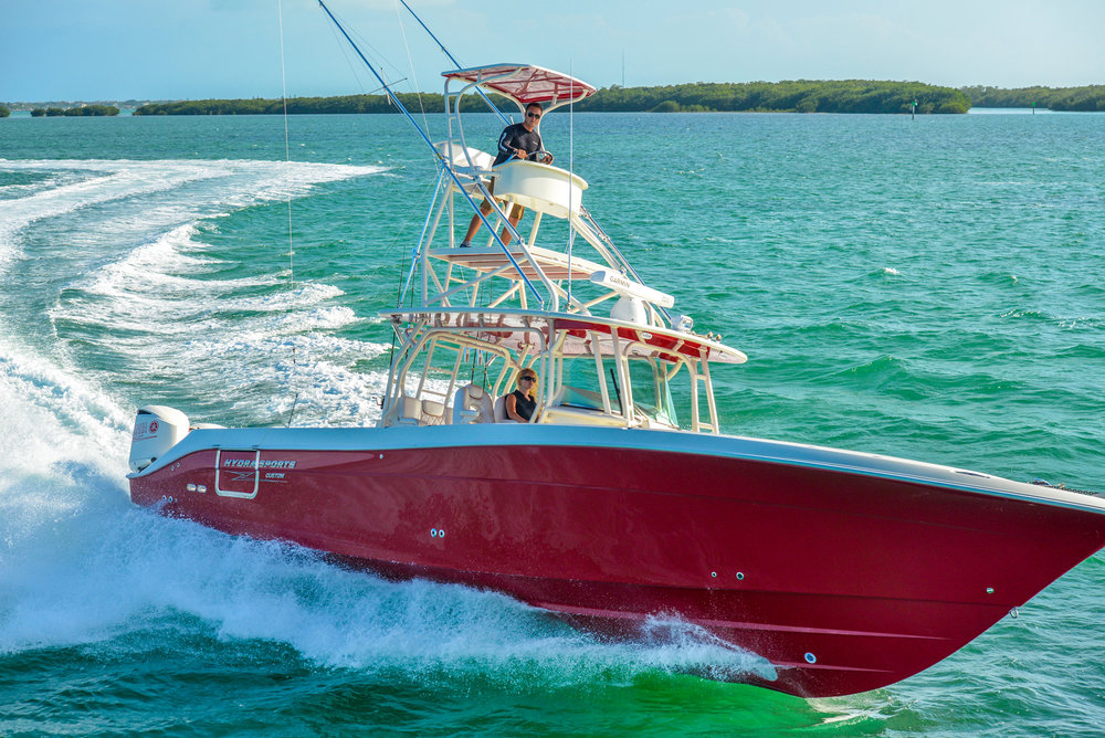 Hcb 42 (hydra-sports) - Seakeeper 3several Hcb 42 projects