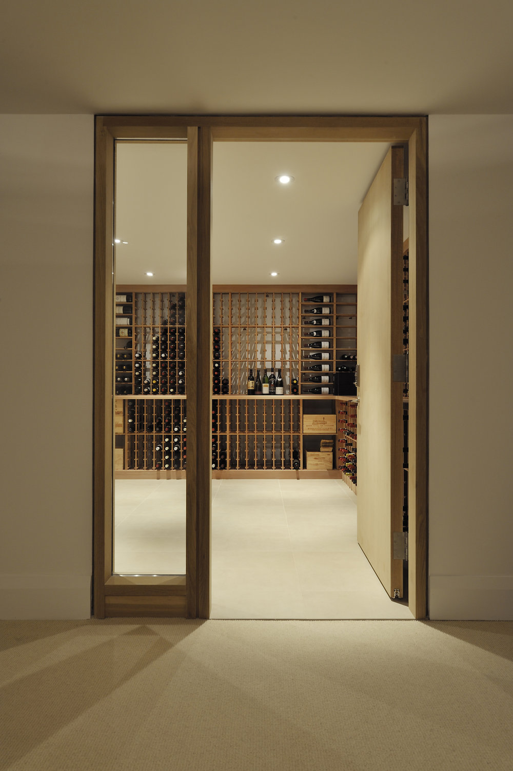 Hoggs Hollow Interior Wine Cellar