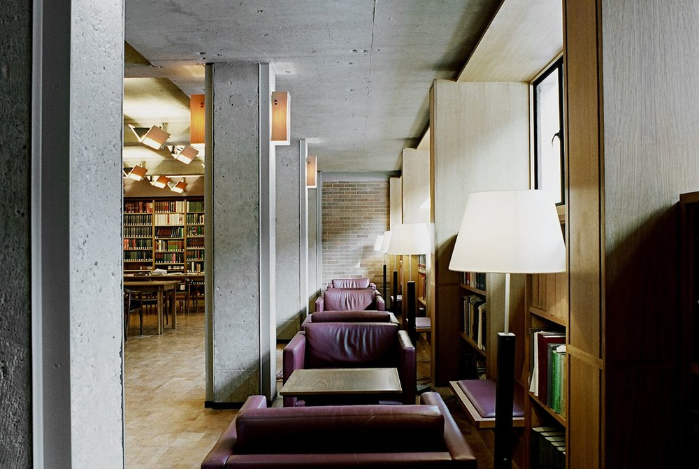Massey College Interior Library Seating