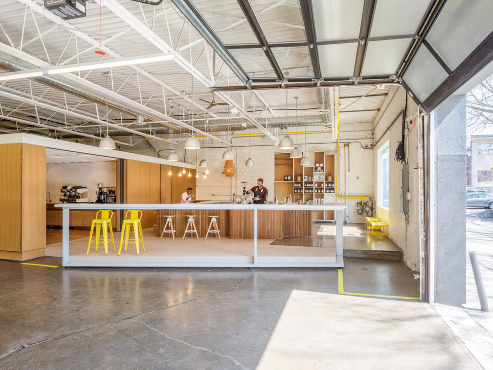 Pilot Coffee Interior Shop