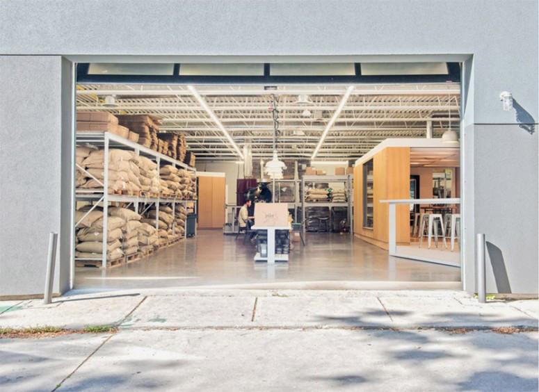 Pilot Coffee Exterior Warehouse
