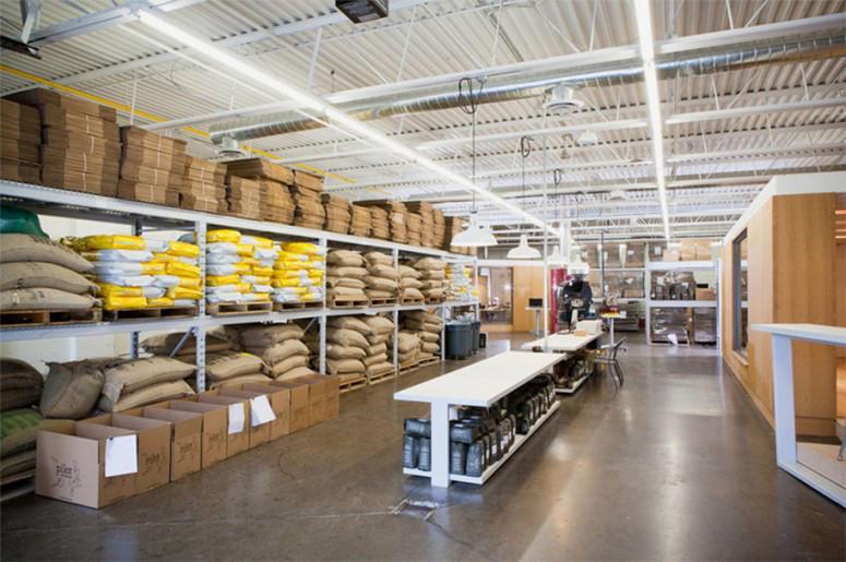 Pilot Coffee Interior Warehouse