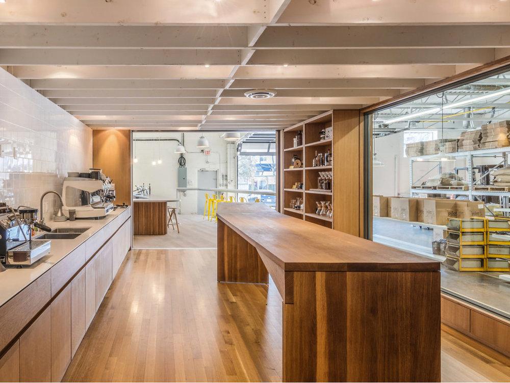 Pilot Coffee Interior Kitchen