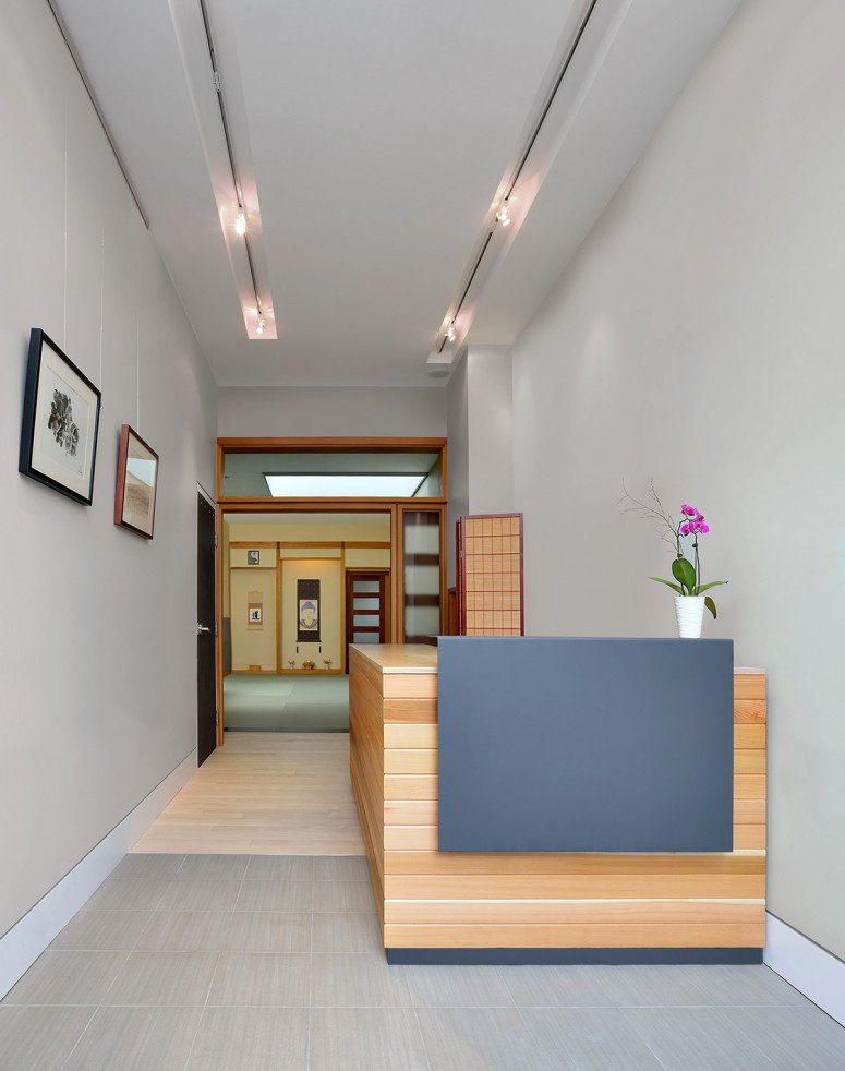 Tao Sangha Healing Centre Interior Reception Desk