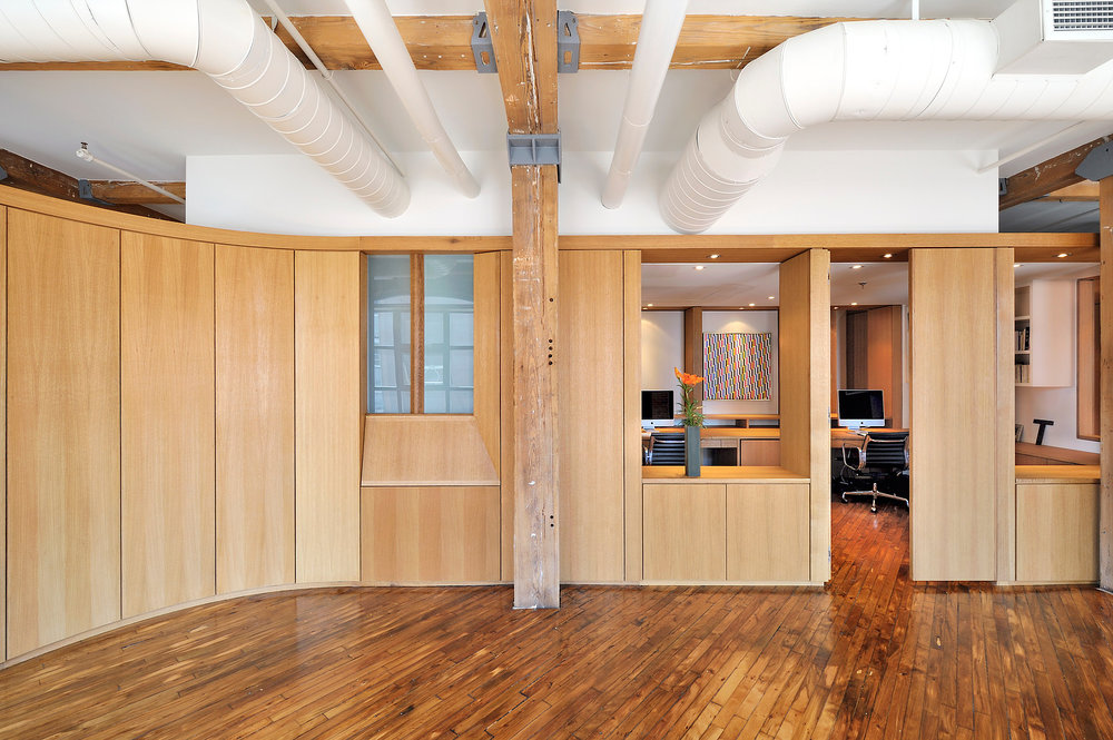Vessel Loft Front Office Space