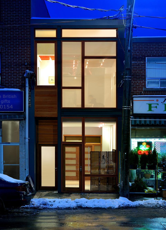 Tao Sangha Healing Centre Tao Exterior Front Night Shot
