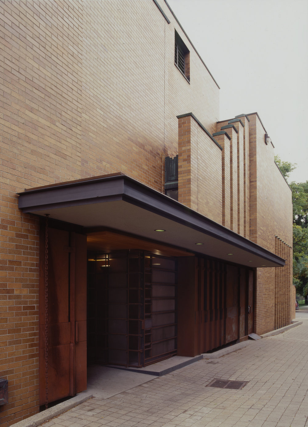 Massey College Exterior Front Entrance