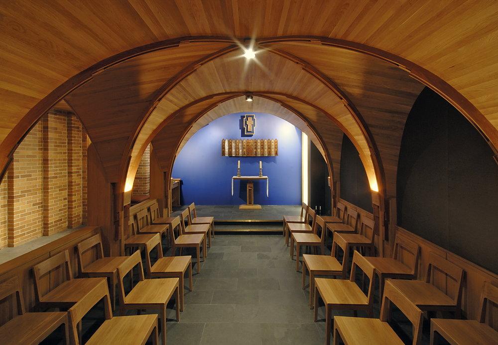 Massey College Chapel Interior Alter